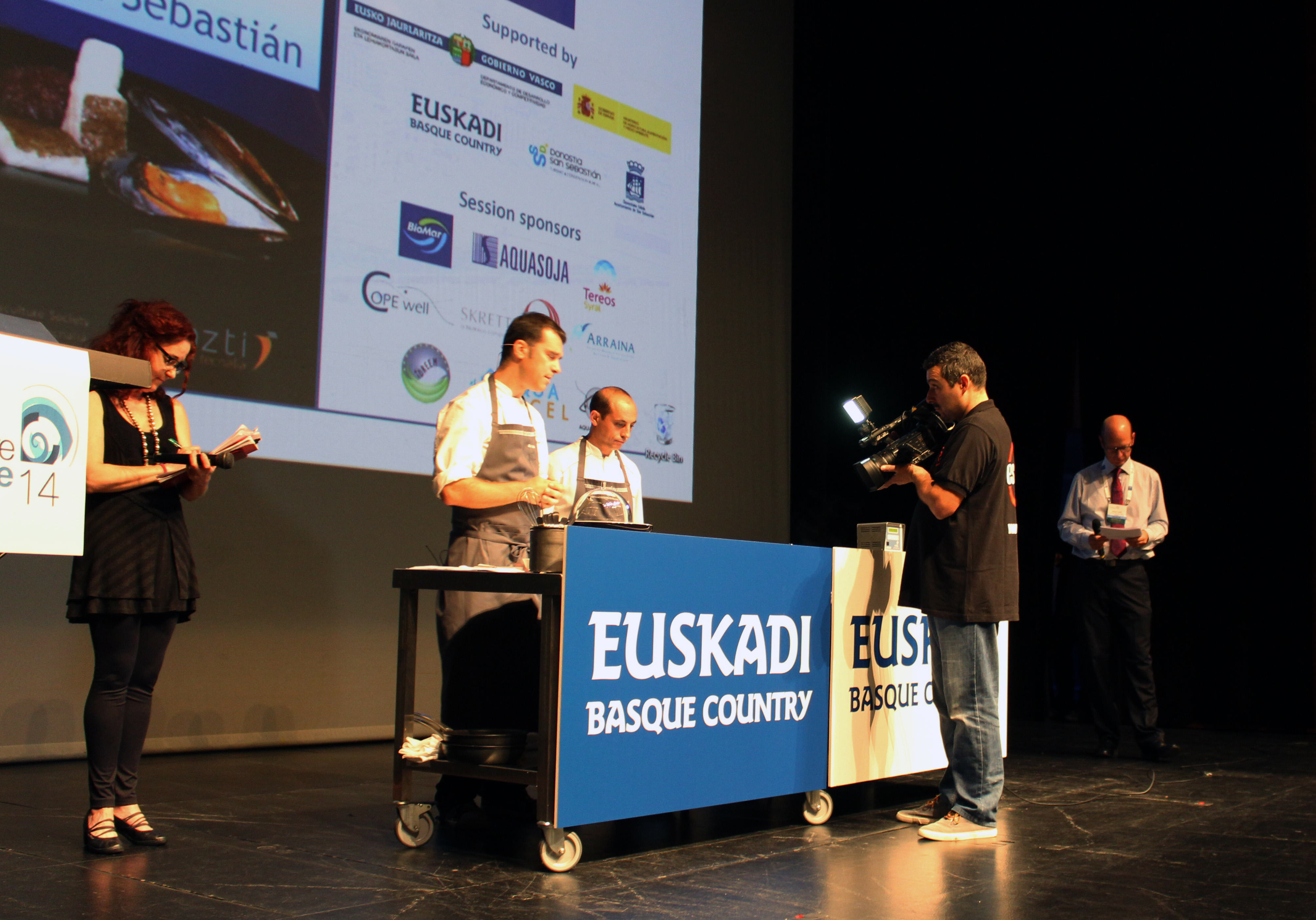 showcooking congreso de acuicultura Mikel Gallo retocada